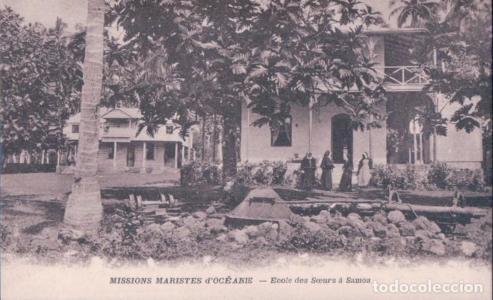 SAMOA - MISSIONS MARISTES D'OCEANIE ECOLE DES SOEURS A SAMOA - MARISTAS MISION (Postales - Postales Extranjero - Oceanía)