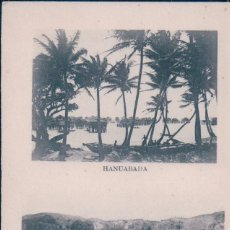 Postales: POSTAL PAPUA - NUEVA GUINEA - HANUABADA - VILLAGE SUR PILOTIS - NATIVE VILLAGE. Lote 99366731