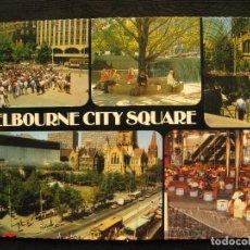 Postales: POSTAL MELBOURNE - VICTORIA - MELBOURNE CITY SQUARE - CIRCULADA.. Lote 101452143