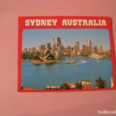 Postales: POSTAL DE AUSTRALIA. SYDNEY. PAPEL BLANDO. IMÁGENES DE DOBLE CARA.. Lote 102733427