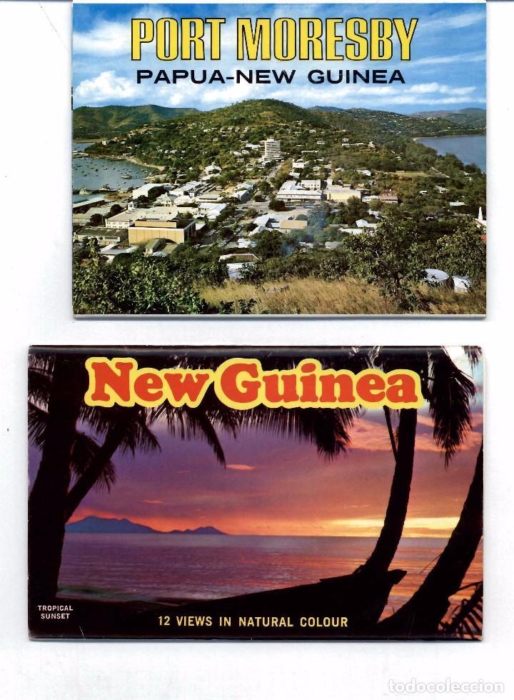 Postales: LOTE DE 121 POSTALES Y VISTAS DE NUEVA GUINEA. AÑOS 1960 - Foto 3 - 103417103