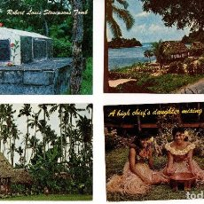Postales: LOTE DE 30 POSTALES DE SAMOA - OCEANÍA. Lote 111582807