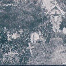 Postales: POSTAL SAIPAN - CEMENTERIO DE LOS CATOLICOS - MISION DE CAROLINAS - OCEANIA. Lote 119637855