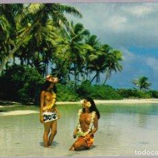 Postales: POLINESIA - TAHITI - LA PAZ Y QUIETUD DE LAS ISLAS. Lote 120898883