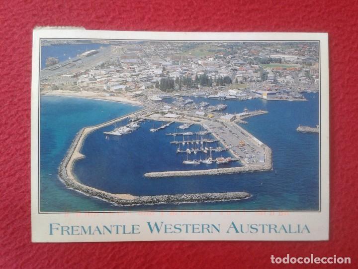 POSTAL POST CARD CARTE POSTALE FREMANTLE FISHING BOAT HARBOUR WESTERN AUSTRALIA PUERTO VER FOTO/S (Postales - Postales Extranjero - Oceanía)