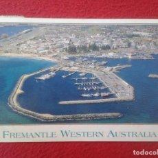 Postales: POSTAL POST CARD CARTE POSTALE FREMANTLE FISHING BOAT HARBOUR WESTERN AUSTRALIA PUERTO VER FOTO/S . Lote 128095455