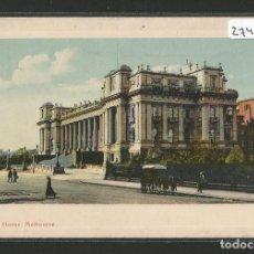 Postales: AUSTRALIA - MELBOURNE - PARLIAMENT HOUSE - PARLAMENTO - P27445. Lote 135419058