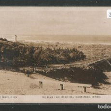 Postales: AUSTRALIA - THE BEACH FROM CANNON HILL - WARRNAMBOOL - VICTORIA - P27442. Lote 135419338