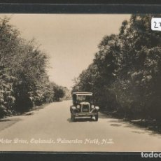 Postales: NEW ZEALAND / NUEVA ZELANDA - THE MOTOR DRIVE ESPLANADE - PALMERSTON NORTH - AUTOMÓVIL - P27440. Lote 135419414