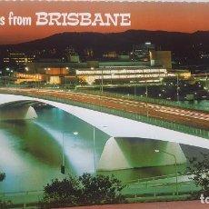 Postales: POSTAL ANTIGUA AUSTRALIA.- QUEENSLAND.- BRISBANE. Lote 135720007