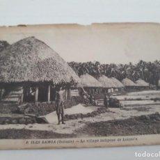 Postales: ILES SAMOA OCEANIA INDIGENA . Lote 135785914
