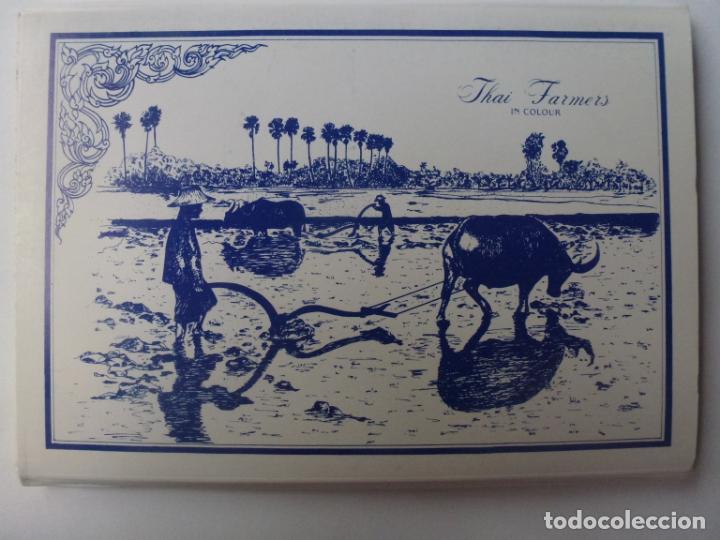 BLOC DE 12 POSTALES DE THAILANDIA. THAI FARMERS. (Postales - Postales Extranjero - Oceanía)
