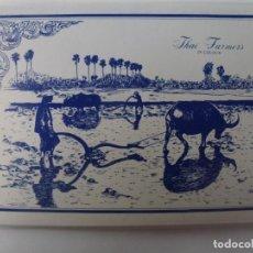 Postales: BLOC DE 12 POSTALES DE THAILANDIA. THAI FARMERS.. Lote 147055774