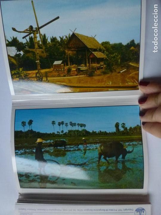 Postales: BLOC DE 12 POSTALES DE THAILANDIA. THAI FARMERS. - Foto 2 - 147055774