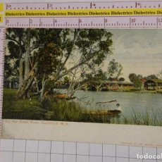 Postales: POSTAL DE AUSTRALIA. SIGLO XIX - 1905. ON THE SWAN RIVER. GUILDFORD. 1860. Lote 147105066