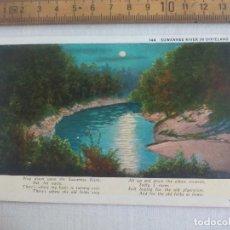 Postales: ANTIGUA POSTAL 144 SUWANNEE RIVER IN DISIELAND. 89204. ESTADOS UNIDOS. 1939 POSTCARD. Lote 148694914