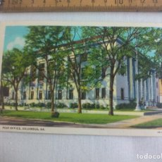 Postales: ANTIGUA POSTAL POST OFFICE, COLUMBUS, GA. 6A-H2698 THE WHITE COMPANY. ESTADOS UNIDOS. 1939 POSTCARD. Lote 148695270