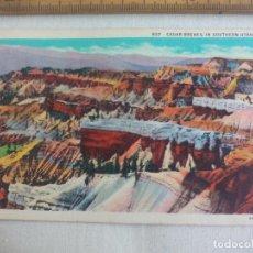 Postales: ANTIGUA POSTAL 937 CEDAR BREAKS IN SOUTHERN UTAH. 4A-H633. ESTADOS UNIDOS. 1939 POSTCARD. Lote 148695930