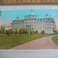 Postales: ANTIGUA POSTAL FIRST DIVISION MONUMENT WAR STATE DEPARTAMENTS WASHINGTON USA 1939 POSTCARD. Lote 148696650