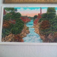 Postales: ANTIGUA POSTAL 130216 HIGH BRIDGE GLENS CUYAHOGA FALLS OHIO USA 1939 POSTCARD. Lote 148697490