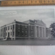 Postales: ANTIGUA POSTAL RUSSELL COUNTY COURT HOUSE PHENIX CITY ALABAMA. ESTADOS UNIDOS 1939 POSTCARD. Lote 148698282