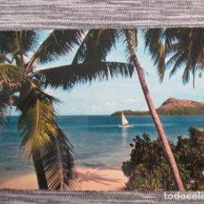 Postales: 6166 OCEANÍA POLYNÉSIE FRANÇAISE BORA BORA PLAGE DE L'HOTEL. Lote 149541446