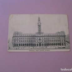 Postales: AUSTRALIA. SYDNEY. CENTRAL POST OFFICE. PUBL. SAMUEL WOOD. SIN CIRCULAR.. Lote 153215122