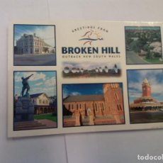 Postales: BJS.LINDA POSTAL BROKEN HILL - AUSTRALIA.CIRCULADA.COMPLETA TU COLECCION.. Lote 156813526