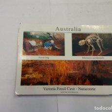 Postales: BJS.LINDA POSTAL VICTORIA FOSSIL CAVE - AUSTRALIA.CIRCULADA.COMPLETA TU COLECCION.. Lote 156816458