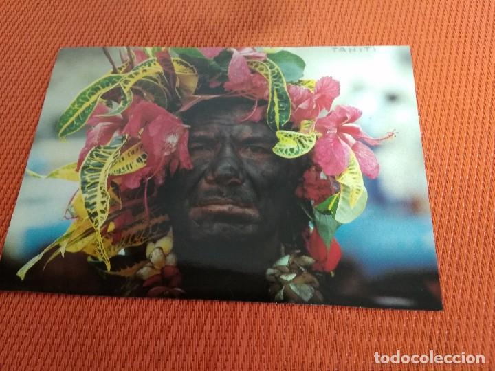 POSTAL TAHITI CIRCULADA (Postales - Postales Extranjero - Oceanía)