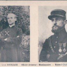 Postales: POSTAL NUEVA GUINEA - NOUVELLE GUINEE - LE P LEON BOURJADE - OFFICIER AVIATEUR - MISSIONAIRE . Lote 172094044