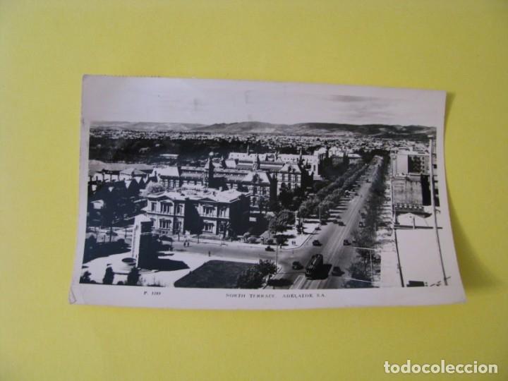 POSTAL FOTOGRAFICA DE AUSTRALIA. NORTH TERRACE, ADELAIDE, S. A. CIRCULADA. AÑOS 50. (Postales - Postales Extranjero - Oceanía)