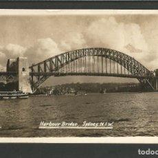 Postales: AUSTRALIA-SYDNEY-HARBOUR BRIDGE-PUENTE-FOTOGRAFICA-VER REVERSO-(62.034). Lote 175708489