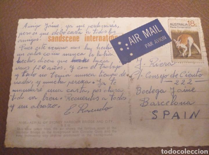 Postales: Postal color Sidney Australia. John Sands N 198. Escrita ca. 1970 - Foto 2 - 182509667