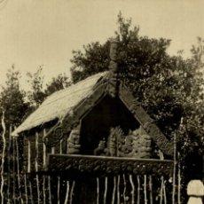 Postales: RPPC 1934 MAORI PATAKA ROTORUA NEW ZEALAND POST CARD. Lote 183333027