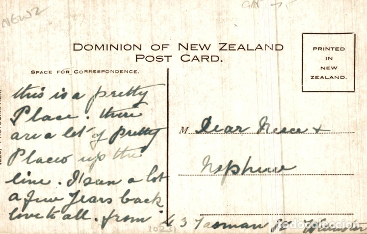 Postales: PAPAKURA GEYSER NEW ZEALAND POST CARD - Foto 2 - 183334465