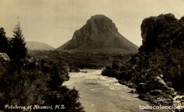 POHUTOROA AT ATIAMURI NEW ZEALAND POST CARD (Postales - Postales Extranjero - Oceanía)