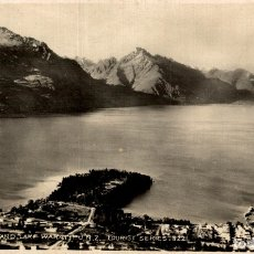 Postales: QUEENSTOWN AND LAKE WAKATIPU NEW ZEALAND POST CARD. Lote 183334526
