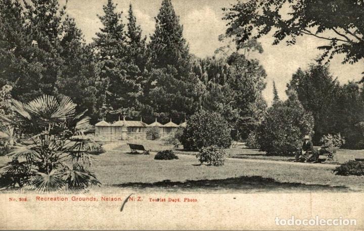 RECREATION GROUNDS, NELSON NEW ZEALAND POST CARD (Postales - Postales Extranjero - Oceanía)