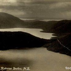 Postales: GREEN, BLUE AND ROTORUA LAKES NEW ZEALAND POST CARD. Lote 183334551