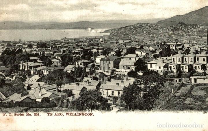 TE ARO, WELLINGTON NEW ZEALAND POST CARD (Postales - Postales Extranjero - Oceanía)