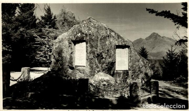 SCOTT MEMORIAL, QUEENSTOWN NEW ZEALAND POST CARD (Postales - Postales Extranjero - Oceanía)