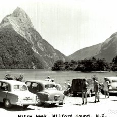 Postales: MITRE PEAK, MILFORD SOUND NEW ZEALAND POST CARD. Lote 183334695