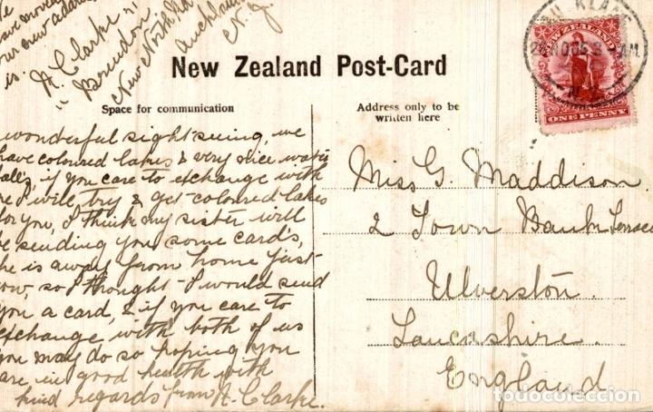 Postales: OHINEMUTU ROTORUA NEW ZEALAND POST CARD - Foto 2 - 183334731