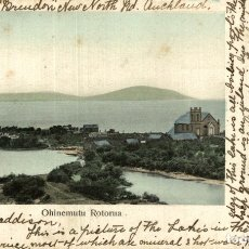 Postales: OHINEMUTU ROTORUA NEW ZEALAND POST CARD. Lote 183334731