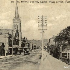 Postales: ST PETERS CHURCH,UPPER WILLIS STREET, WELLINGON NEW ZEALAND POST CARD. Lote 183334778