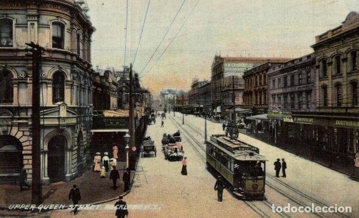 UPPER QUEEN STREET, AUCKLAND NEW ZEALAND POST CARD (Postales - Postales Extranjero - Oceanía)