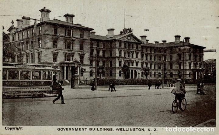 GOVERNMENT BUILDINGS, WELLINGTON NEW ZEALAND POST CARD (Postales - Postales Extranjero - Oceanía)