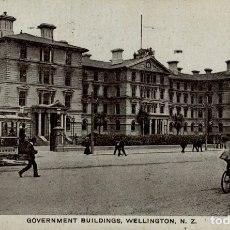 Postales: GOVERNMENT BUILDINGS, WELLINGTON NEW ZEALAND POST CARD. Lote 183334851