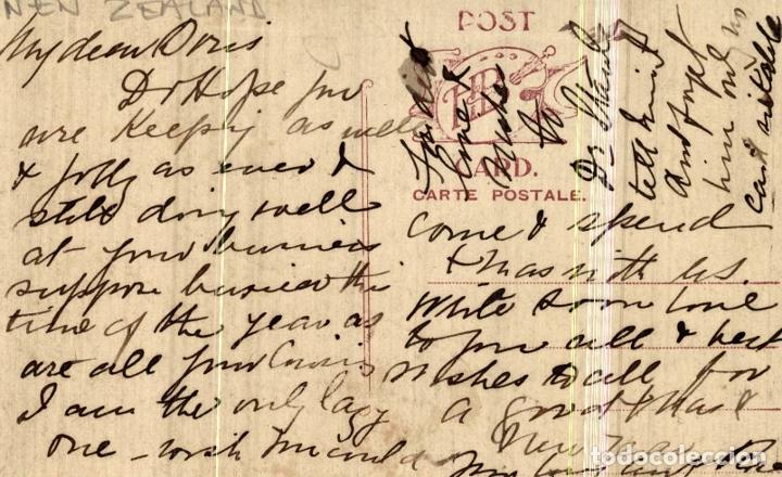 Postales: TWILIGHT ON THE VANGANUT NEW ZEALAND POST CARD - Foto 2 - 183334935